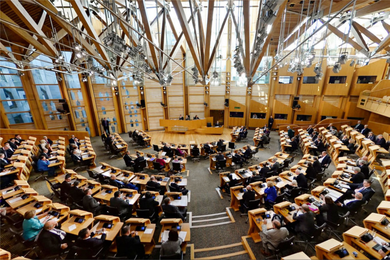 Holyrood Scotland superfast broadband Parliament Edinburgh