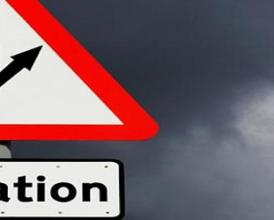'Don't Panic' over inflation spike, say Bank of England