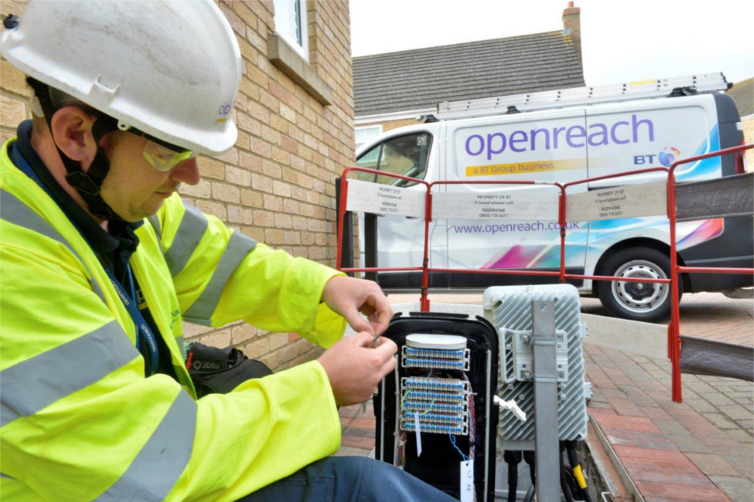 Openreach engineer BT fine dispute