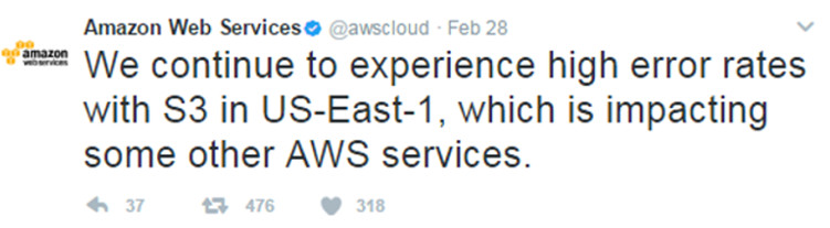 The simple typo that brought down Amazon Cloud 2