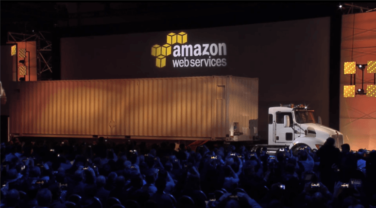 Latency Sneakernet Amazon data truck