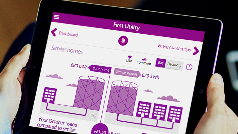 First Utility broadband launches with cheap plans to undercut Big Four - tablet energy compare 768.434