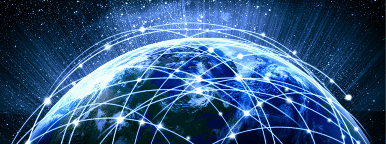 How does the internet work? Connected world