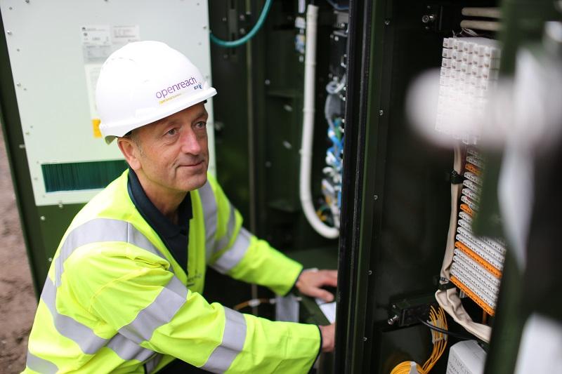 What if I can't get fibre broadband near me? Fibre broadband engineer cabinet